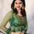 Designer Green Embroidered Long Anarkali Suit