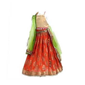 Orange printed