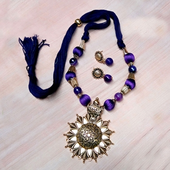 Violet Antique Necklace Sets