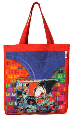 Buy Funky Taxi Tote Bag Online 11e9d39c2f