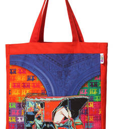 Funky Taxi Tote Bag