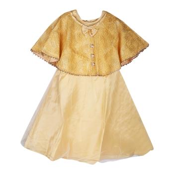 Fawn Plain Net Kids-Girl-Gowns