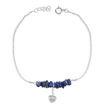 Blue Lapis Lazuli Anklets