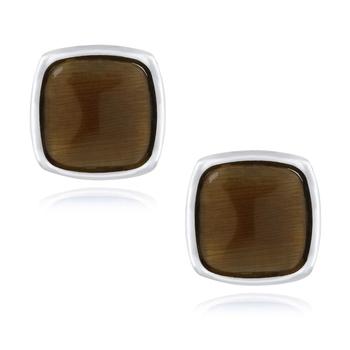 Brown cufflink