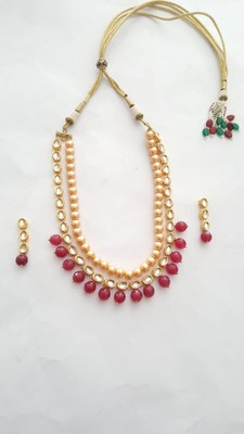 Necklace Set (Ruby) Necklace Set