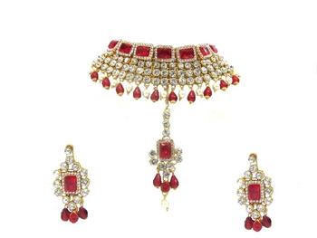 Red jewellery