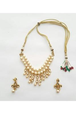 Necklace Set (Pearl) Necklace Set