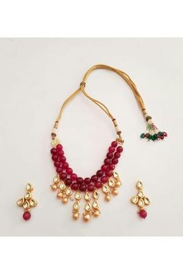 Necklace Set (Ruby)