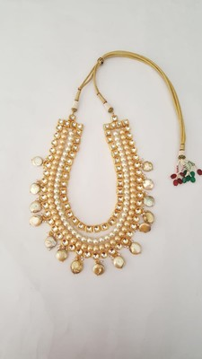 Kundan And Pearl With Barook Necklace