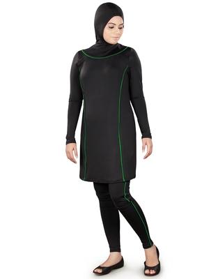 Lamisah Black Burkini Swimsuit