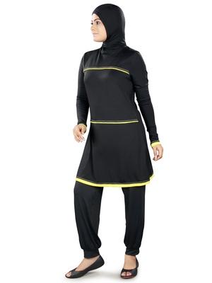 Black Shehla Burkini Swimsuit