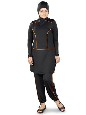 Black Badia Burkini Swimsuit