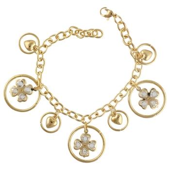 Gold Tone Style Handmade Adjustablecharm Bracelet For Girls/Womens