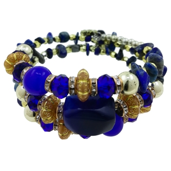 Multicolour Tone Stretchable & Adjustable Beads Bracelet For Girl/Women/Wife/Girlfriend