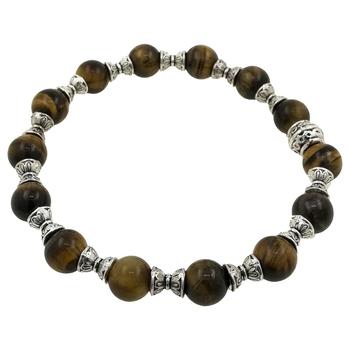 7 Chakra Bracelet 8 Mm Beads Bracelet For Healing And Meditation, Protection - Stone Bracelet For Women, Men, Girl, Boys