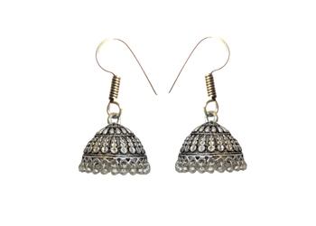 Oxidised Silver Earrings