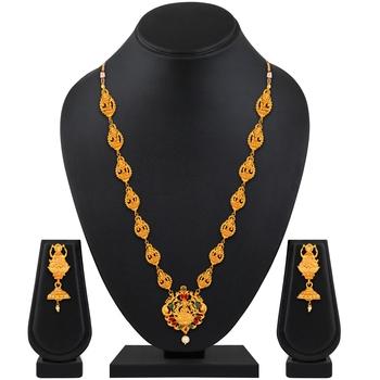 Multicolor diamond necklace-sets