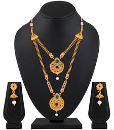 Multicolor diamond necklace-sets