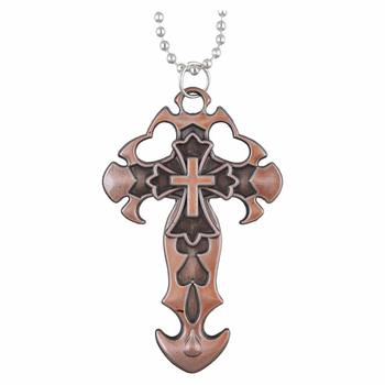Cross Pendant With Chain For Men,Boys,Husband & Unisex