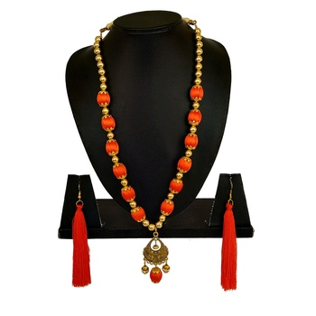 Orange Necklaces