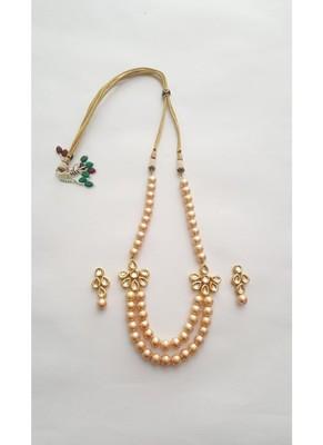 Tukdi Pearl Necklace