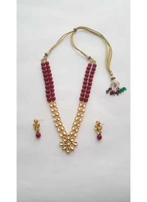 Floral With Ruby Set