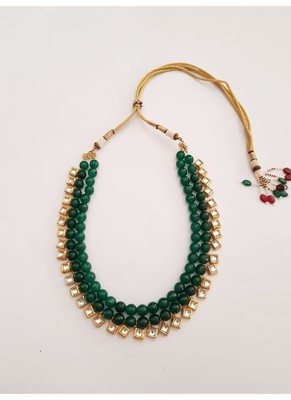 Emerald Kundan Necklace