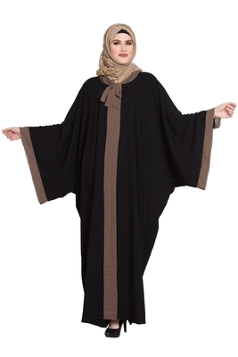 Black Kaftaan kashibo abaya