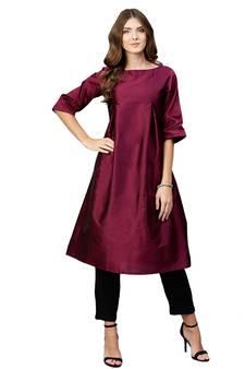 73e93557a9f Silk Kurtis – Buy Pakistani Raw Silk Kurti Online   Best Prices