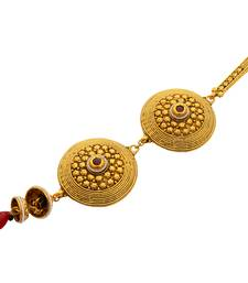 Stunning Drop Stone Embellished Challa/ Waist Key Chain/Satka