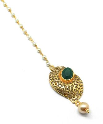 Gold Plated Maang Tikka For Women & Girls
