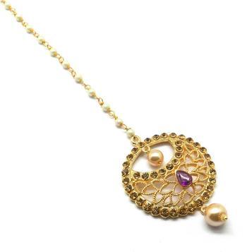Gold Plated Maang Tikka For Women & Girls