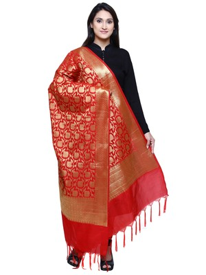 Women's Banarasi Silk Jacquard Dupatta