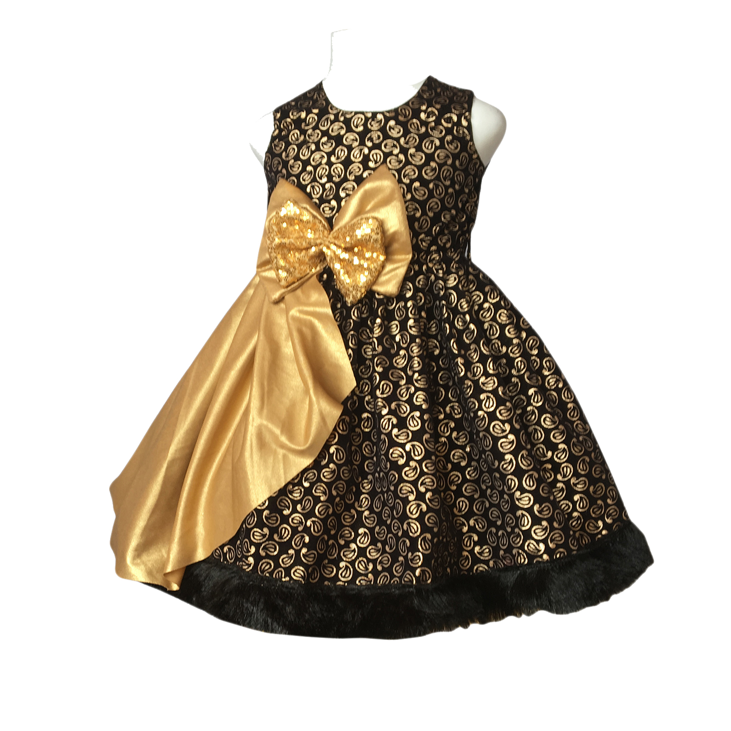 8c671a7cd2 Black And Gold Toddler Formal Dress - Gomes Weine AG