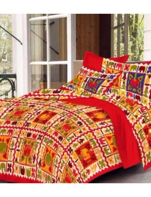 Handmade Bedding Bedspread Bedsheet With 2 Pillow Cover Queen Size 90 X 108 inches