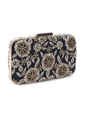 Royale black beauty clutch