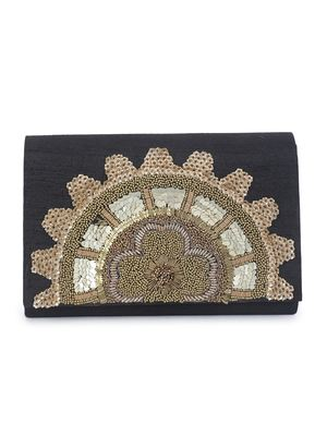Shades of gold clutch