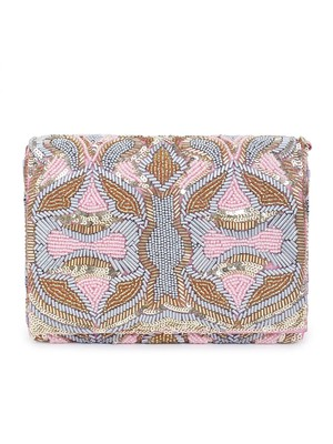 Perfectly pink clutch