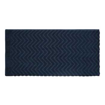 Chevy Solids Cotton Blue Bath Towel 30 X 60 inch GSM 450