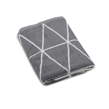 Dunes Cotton Grey Bath Towel 30 X 60 inch GSM 500