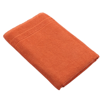 Turf Cotton Saffron Bath Towel 30 X 60 inch GSM 350