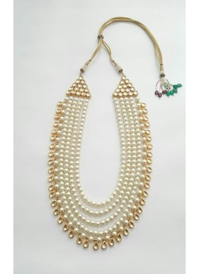 4 Layer Pearl Necklace