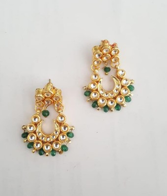 Divaa Chandbali (Emerald)