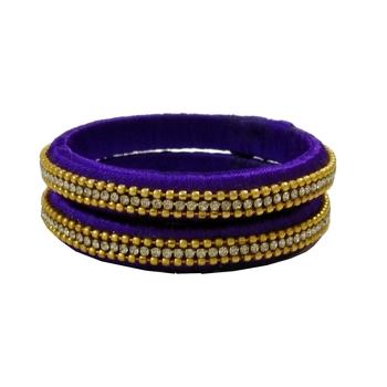 Multicolor Silk Thread Bangles