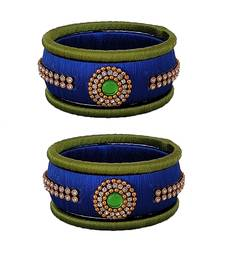 Silk Thread Bangles Latest Indian Silk Thread Bangles Designs Online