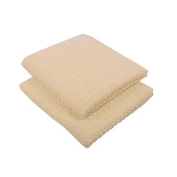 Matrix Cotton Ecru Hand Towel 16 X 24 inch Pack of 2 GSM 450