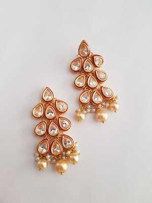 Drop Ruby Earring