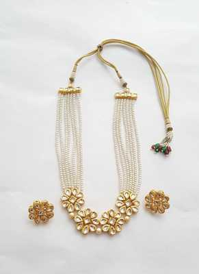 Pearl And Kundan Necklace