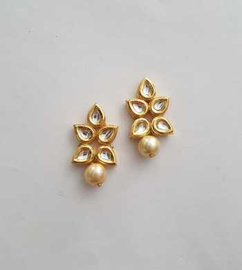 Kundan Drop Earring