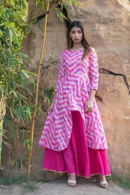Peplum Style Gown